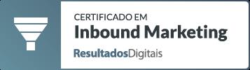 Certificação de Inbound Marketing - PIPAR parceiro Resultados Digitais